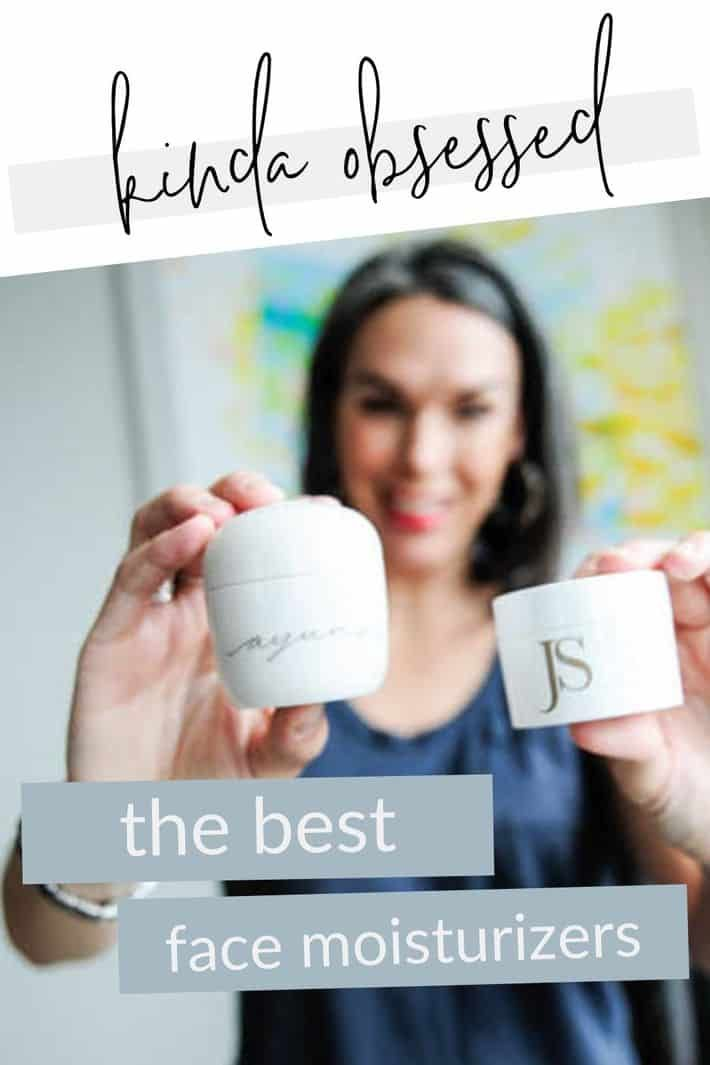 I've discovered the BEST all-natural face moisturizers for women. They're the ultimate when it comes to nourishing, balancing and hydrating skin! #thisorganicgirl #bestfacecream #nontoxicskincare #organicskincare #bestmoisturizer