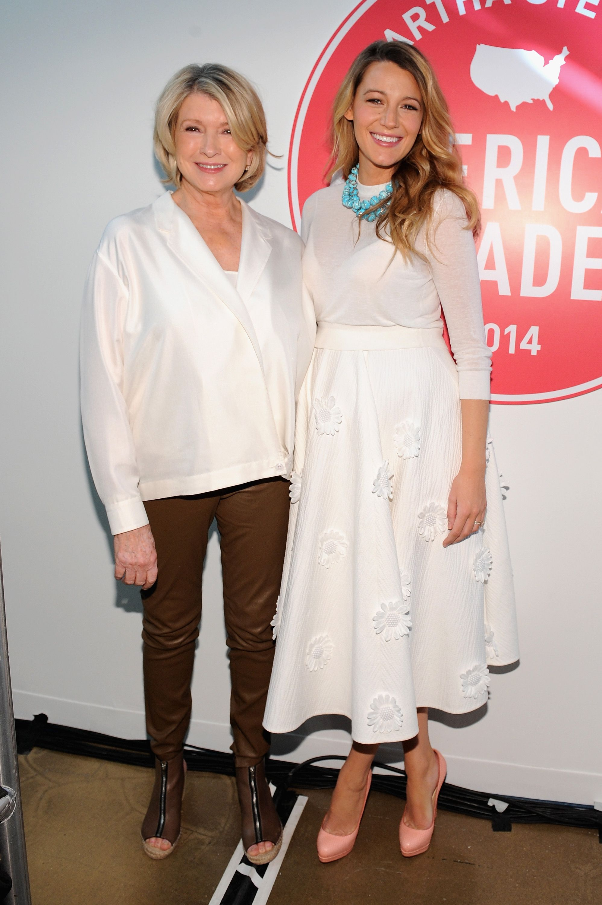 Its All Good: Blake Lively and Her Baby Bump Meet Up With Martha Stewart