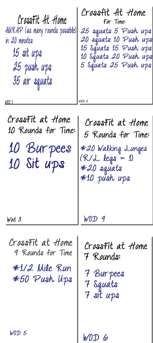 CrossFit on the Fly | Crossfit, Workout and Exercises
