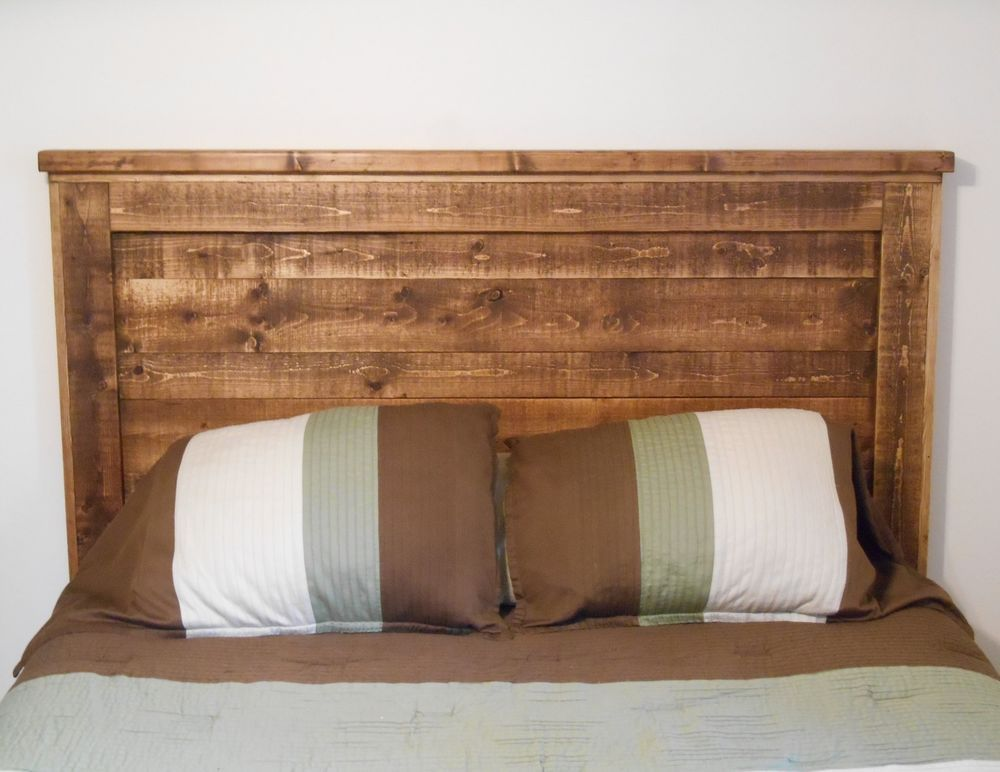 Details About Full Queen Size Headboard Solid Wood Country