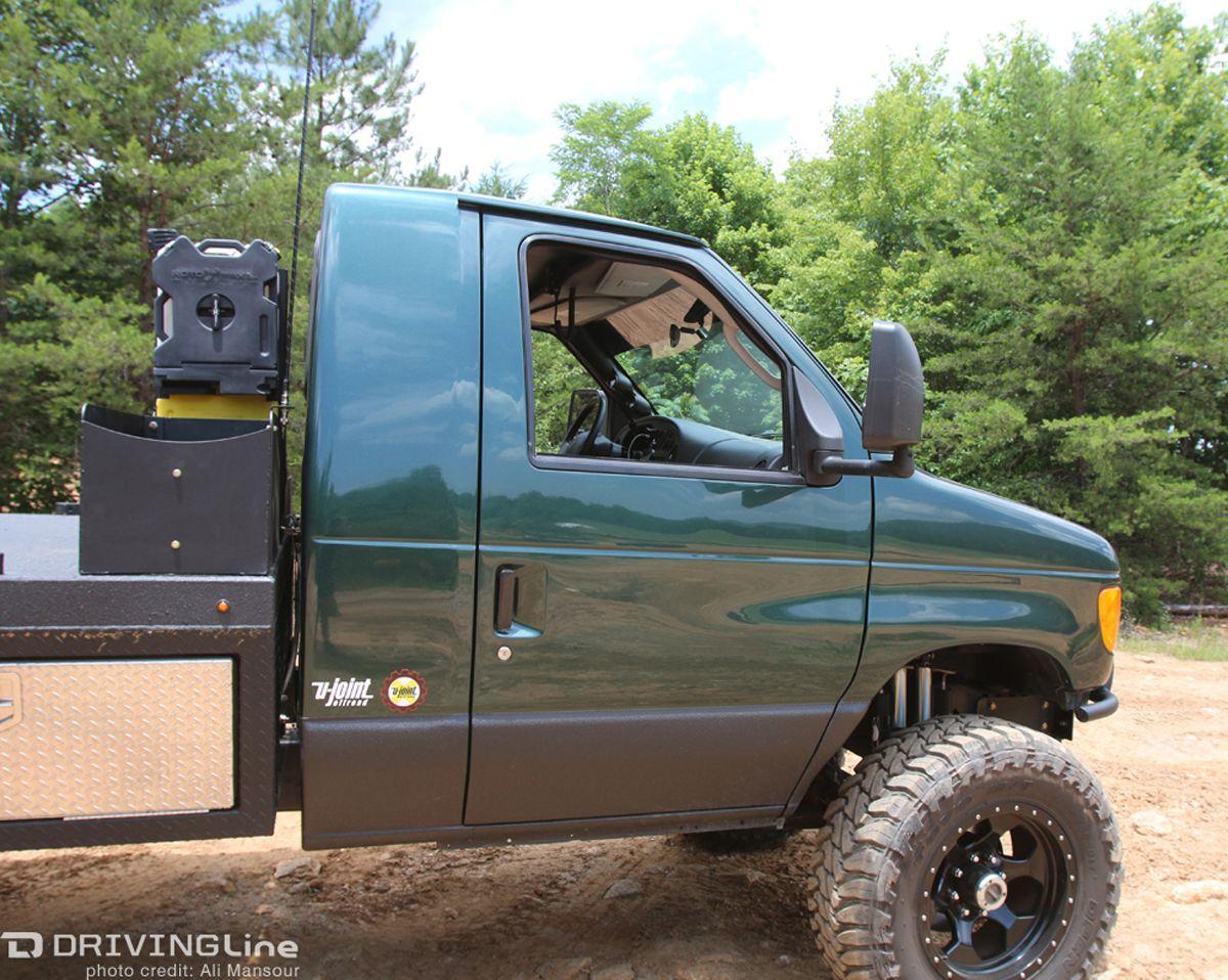72002forde3504x4van Ford van, Big trucks, 4x4