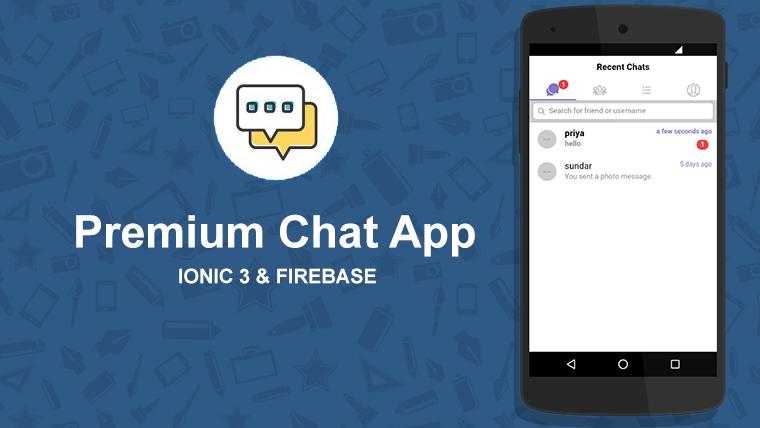 Ionic #Firebase #chatapp source code   Ionic Firebase Chat   Chat