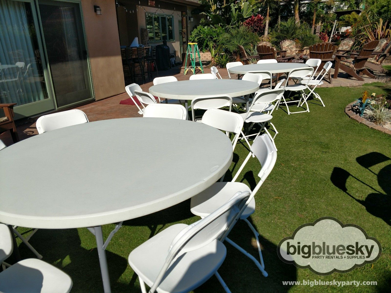 Table Chair Rentals Party Rentals White Folding Chairs Canopy Rentals