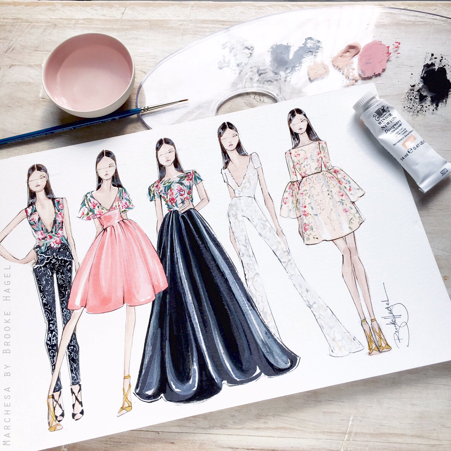 Photo of Sketches Inspired by Resort Collections