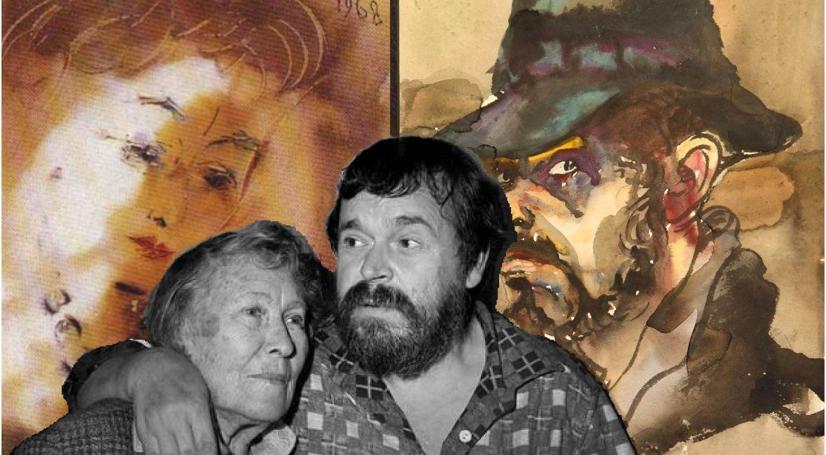Oksana (aka Ksenya) Aseeva was a wife of Russian poet Nikolay Aseev. Anatoly Zverev loved her despite the fact that she was older than him by 40 years...  http://stroganov.livejournal.com/149866.html