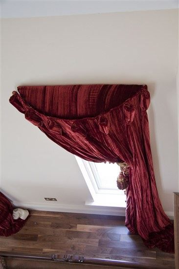 Opulent Curtain Designs By June Rayfus Interiors, Navan, Co. Meath. Velvet  Curtain