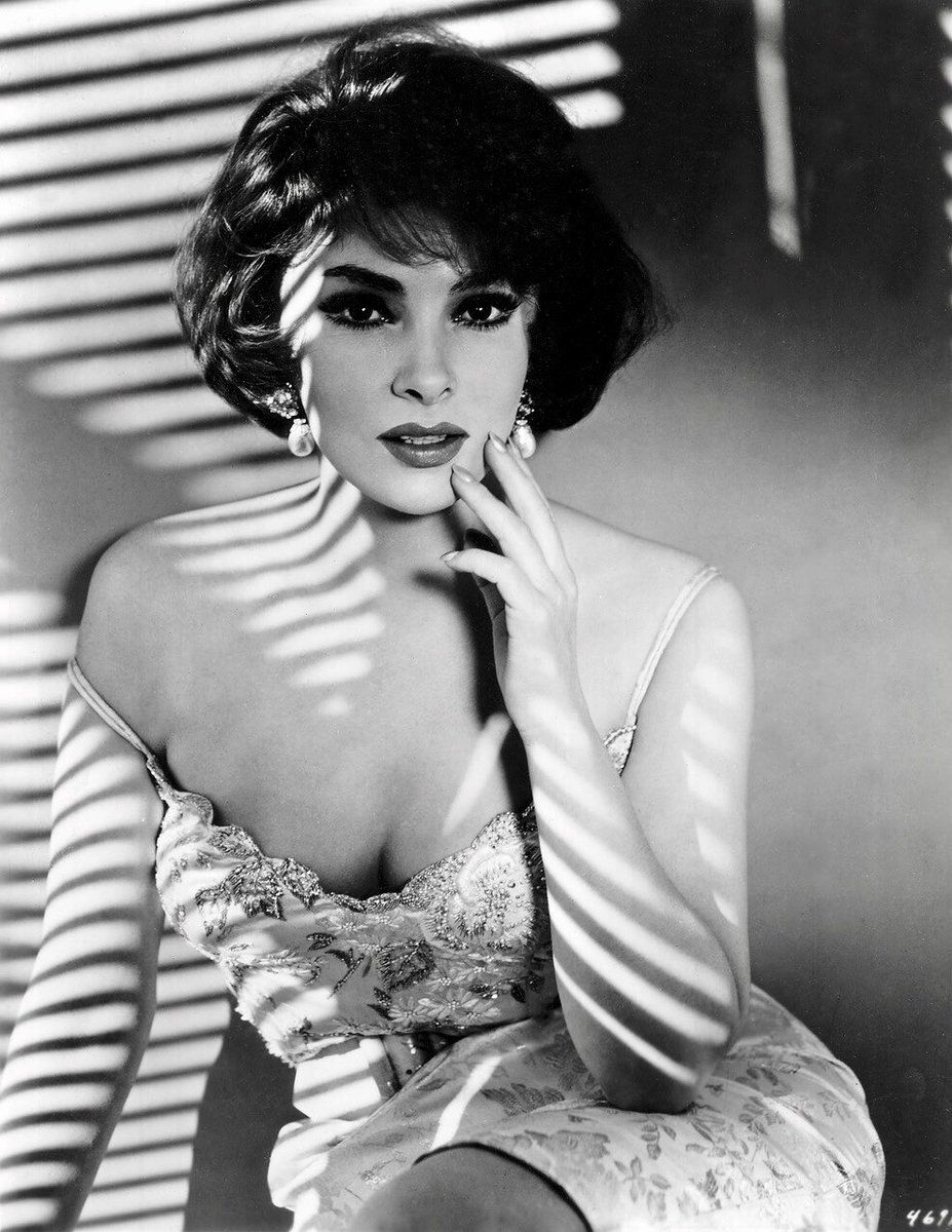 Mme. Gina Lollobrigida, 4 Juillet 1927, #HappyBirthday #classicactresses
