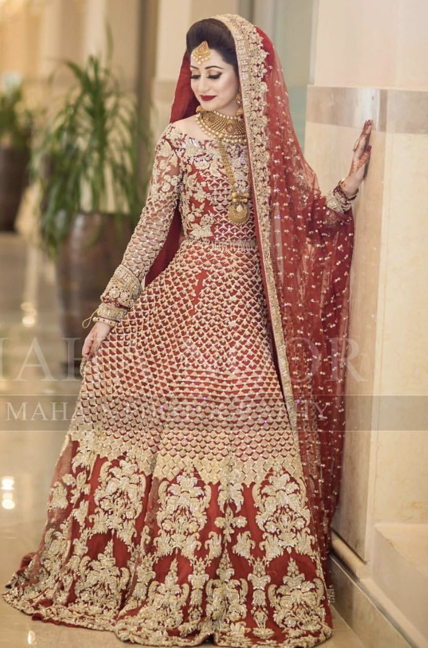 ff15e78dcc Barat bride | designer wear in 2019 | Bridal lehenga, Bridal lehenga ...