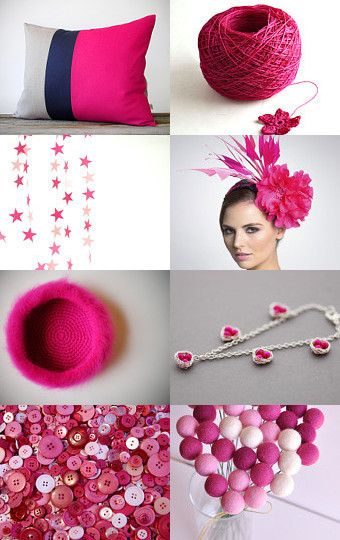 Hot (Pink) Stuff--Pinned with TreasuryPin.com