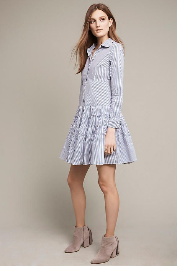 Chaumont Shirtdress Shirtdress Anthropologie And Wardrobes