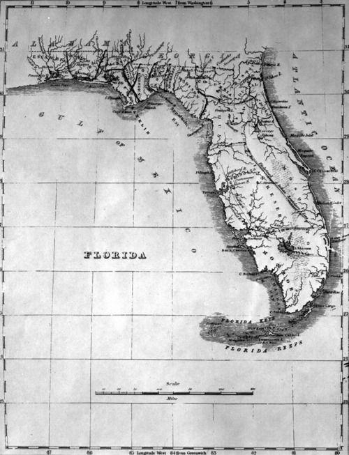 Old Florida Maps.Old Florida Maps Love Early Florida Maps Florida Pinterest