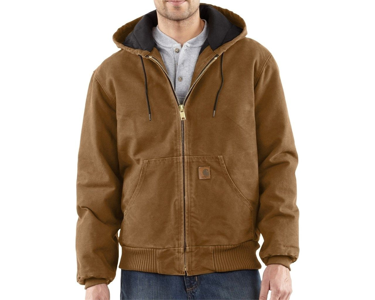fc8229a9092 Carhartt Quilted Flannel Lined Sandstone Active Jacket