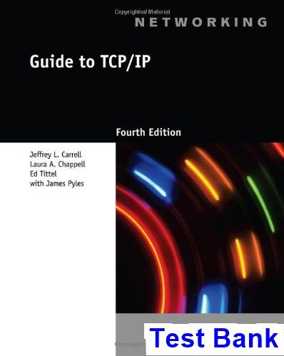 Guide to tcp ip 4th edition carrell test bank test bank guide to tcp ip 4th edition carrell test bank test bank solutions manual fandeluxe Images