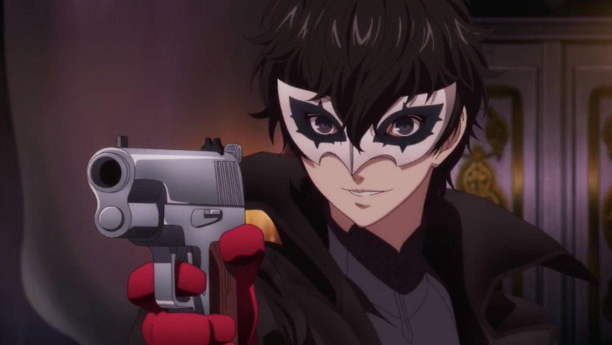 Ren Amamiya Joker Leader of Phantom Thieves