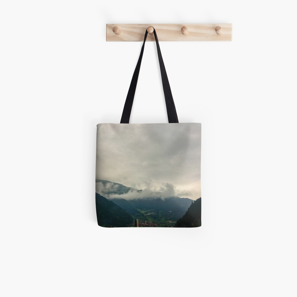 Amazing Mountain View Clouds Tote Bag By Bennemm Best Tote Bags Bags Tote Bag