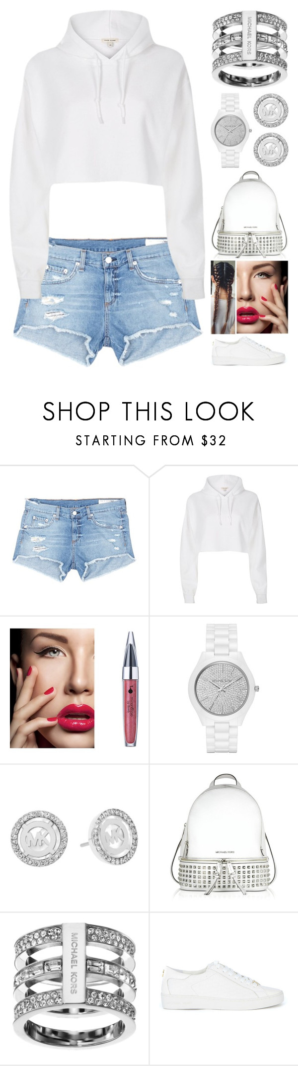"""""""Street Style"""" by jessicagrewal ❤ liked on Polyvore featuring rag & bone/JEAN, River Island and Michael Kors"""