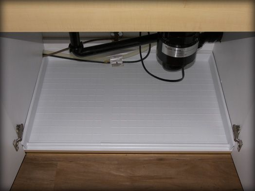 Driptite Slide N Fit Under Sink Pan Would Be Great If Used With