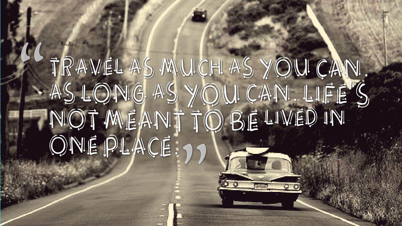 Image For Travel Quotes Wallpaper Images