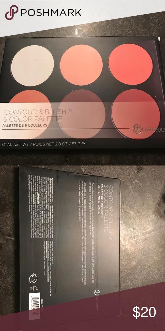 Contour And Blush 2 6 Color Palette Color Palette Blush Makeup Color