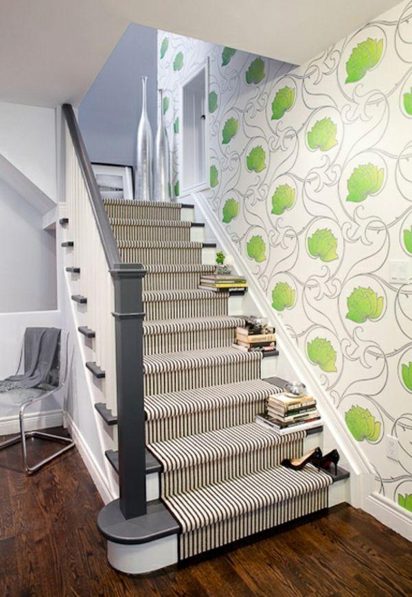 Teppich für treppen  treppen teppich streifen muster | Treppenhaus | Pinterest ...