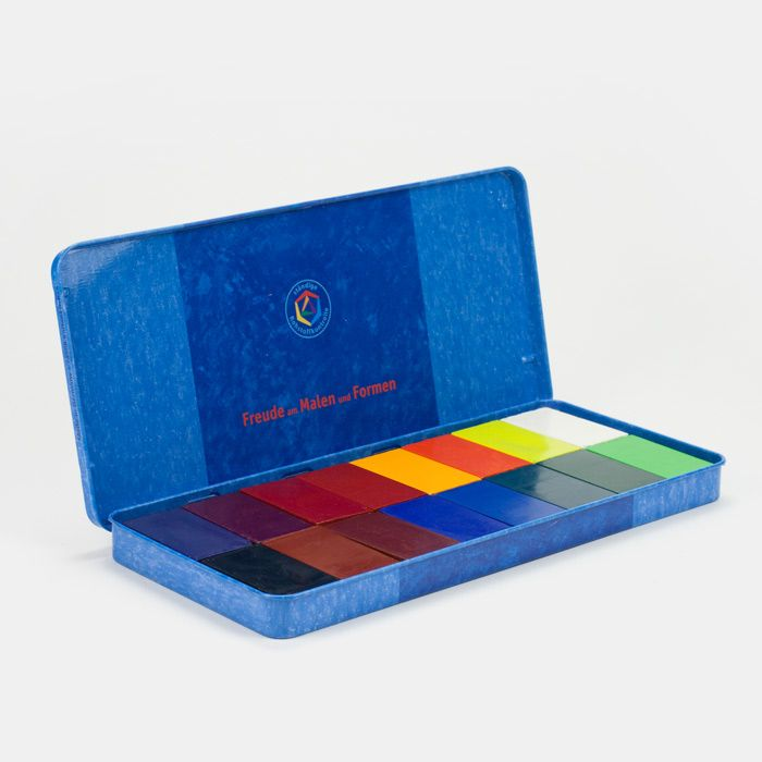 Wachsmalblocke Von Stockmar 16 Farben Ab 3 Jahre