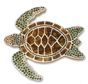 Mosaic Pebble Art - Sea Turtle    Google Image Result for http://images.delphiglass.com/image_new/193389.jpg