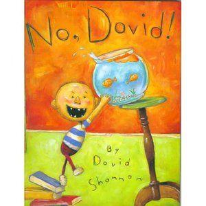 No, David! (Hardcover) - Walmart.com