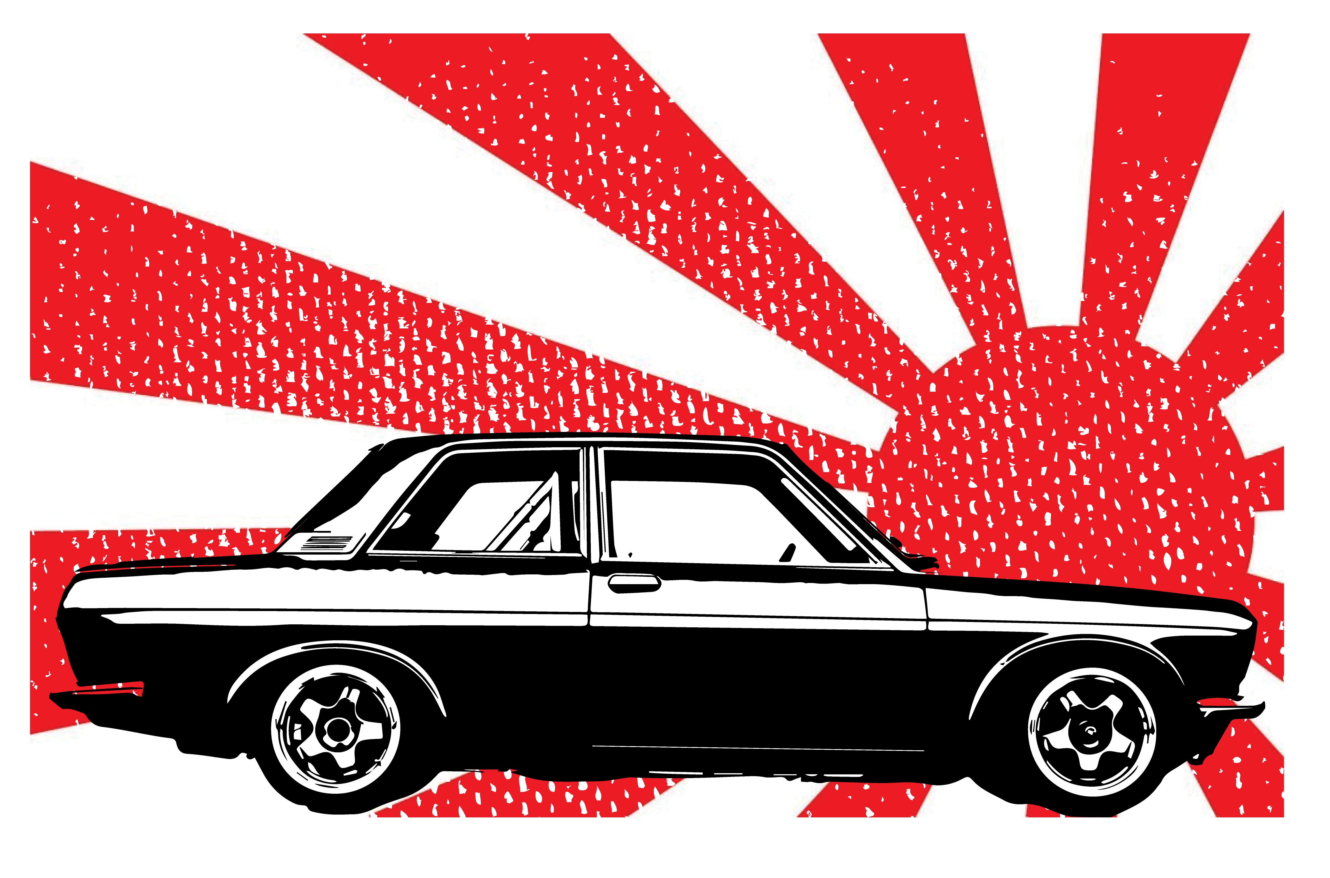 Datsun 510 Jdm Bluebird Rising Sun Short Sleeve Unisex T Shirt Etsy Datsun 510 Datsun Jdm