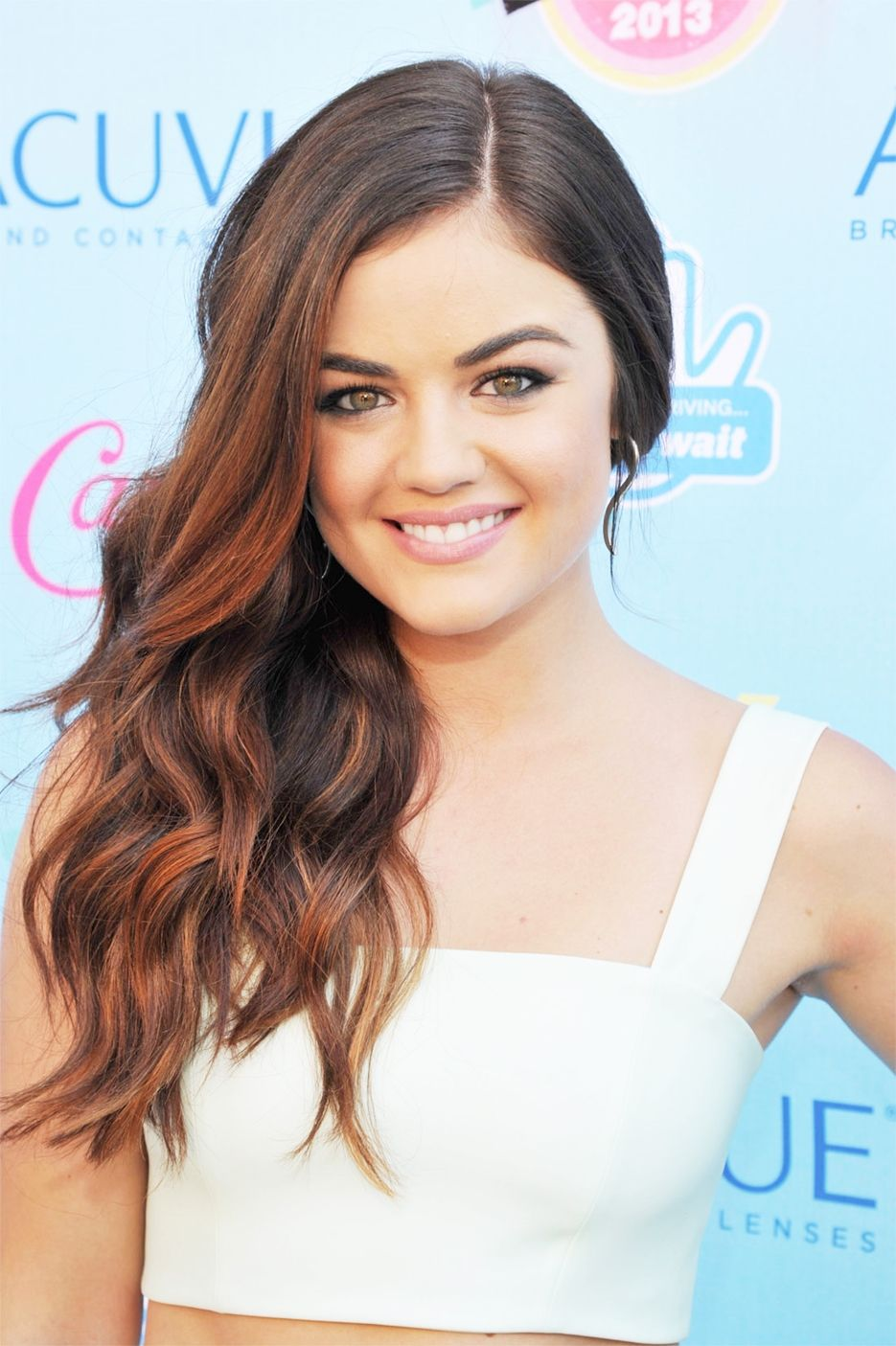 Lucy Hale Teen Choice 2013 Hair Color Ideas Pinterest Hair