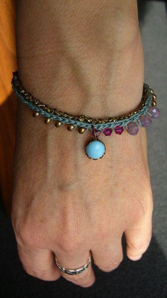 *+Häkelarmbändchen+*+von+crochet.jewels+auf+DaWanda.com