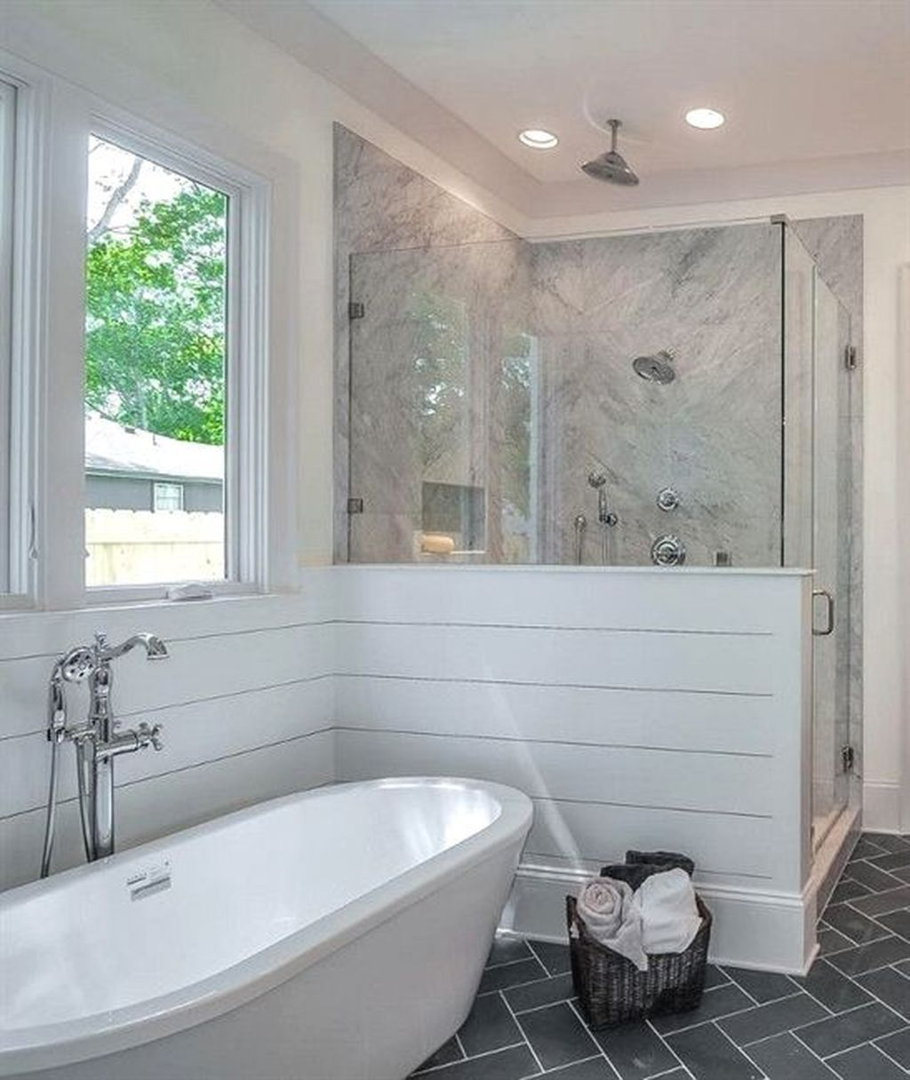 46 Beautiful Master Bathroom Remodel Design Ideas | Bathroom