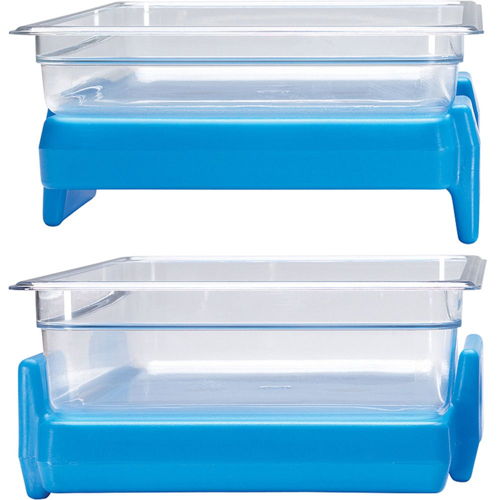 Cold Blue Full Size 1 1 Gn Buffet Camchiller Food Pan Ice Pack Cambro Food Storage Organization Food