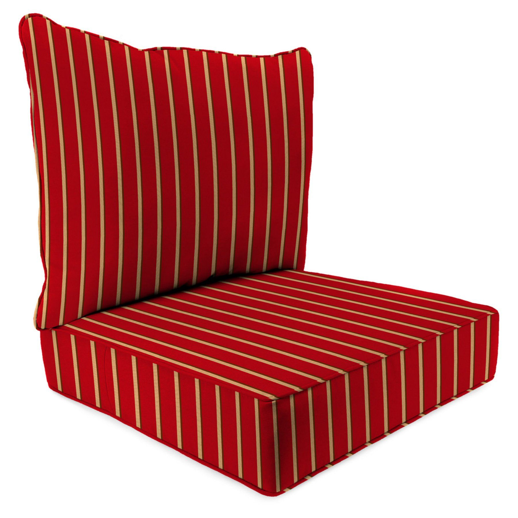 jordan manufacturing sunbrella 2 piece hardwood stripe crimson rh in pinterest com