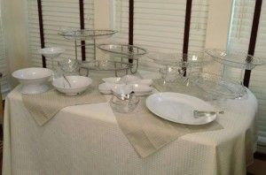 video diy 5 easy steps to a party perfect buffet table in any size rh pinterest com