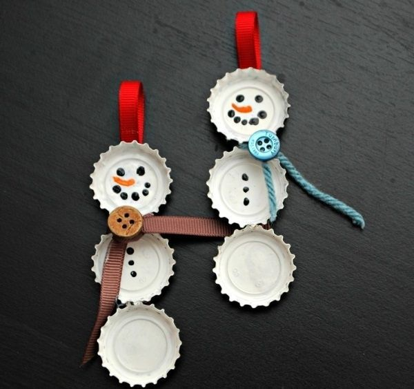 Christmas Ornaments For Kids To Make In School Part - 41: 40 Easy Art And Craft Ideas For Kids For School