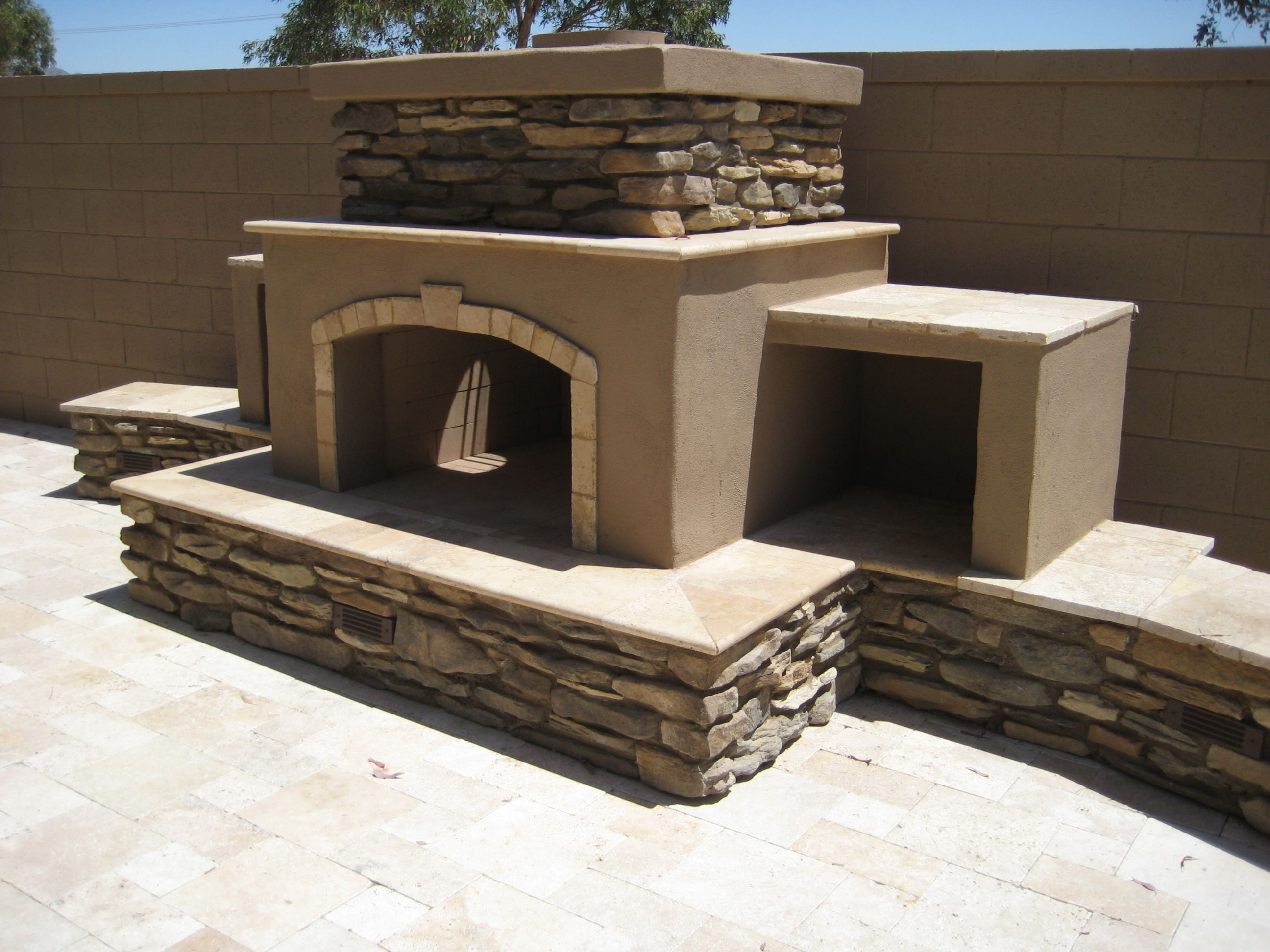 Serving Phoenix, AZ With Premium Outdoor Kitchens, Fireplaces, And  Barbeques! Attain The Backyard Of Your Dreams With Outside Living Concepts!