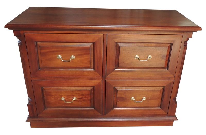 4 drawer mahogany filing cabinet drawers available in 2 different rh pinterest com