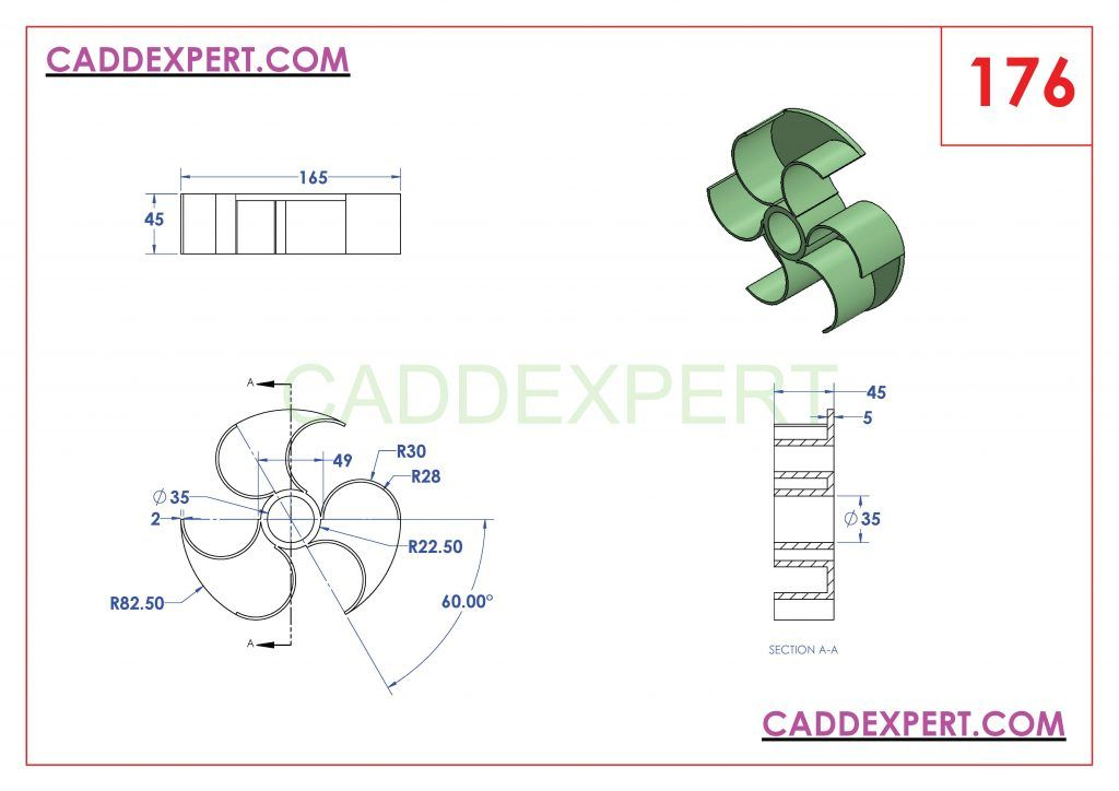 SOLIDWORKS CATIA NX AUTOCAD 3D DRAWINGS PRACTICE BOOKS 100