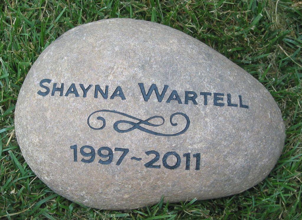 Memorial Stone,Memory Stone, Garden Stone, Grave Marker 11