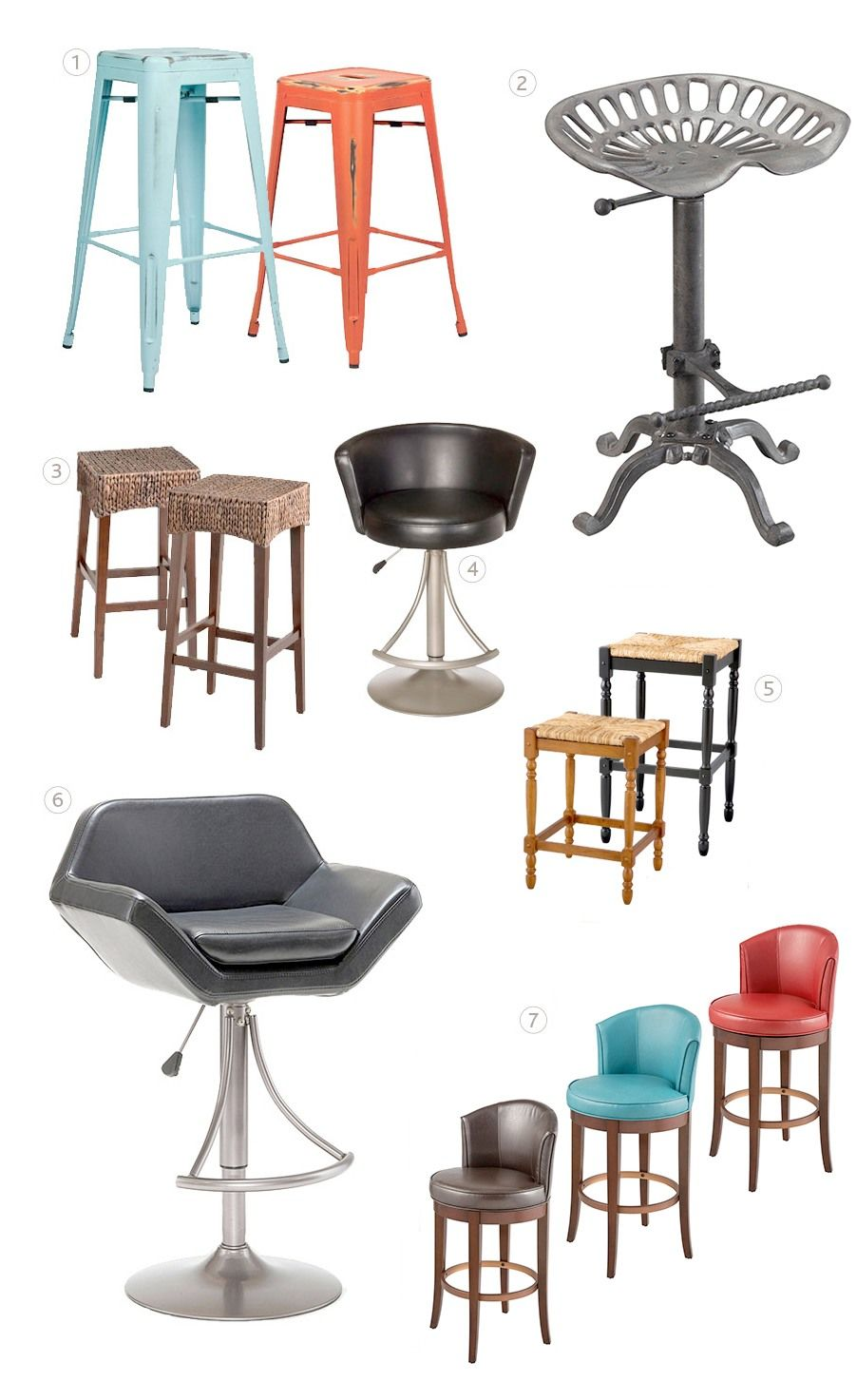 how to choose the right bar stool height 3443 barstool california rh pinterest com