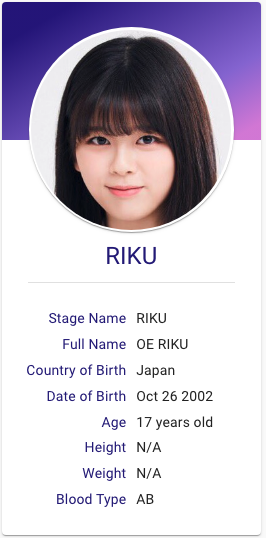 Oe Riku Niziu Hallyu Idol Profiles Jpop Japanese Girl Band Sony Music Entertainment Jpop Kprofile is probably the most inaccurate popularity poll out there. oe riku niziu hallyu idol profiles