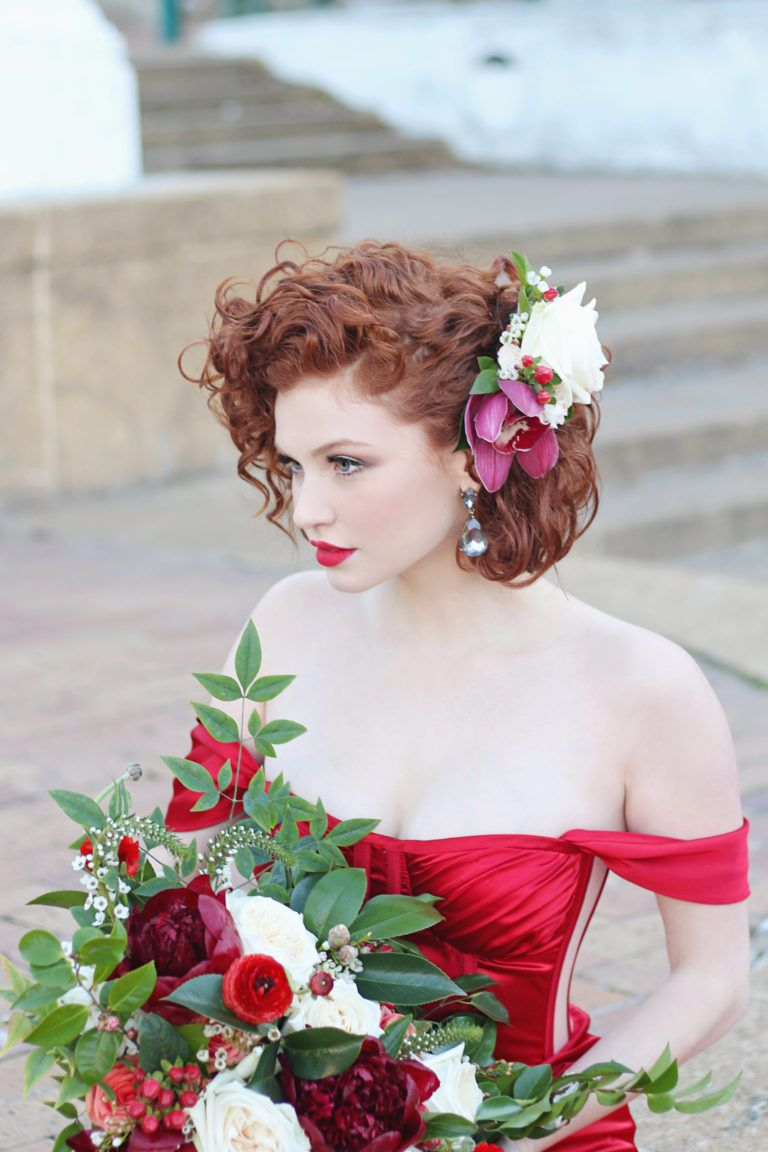 Old Hollywood Glamour – epanouir flower studio - red peony, rose, ranunculas bridal bouquet - flowers for weddings in cape town, cape winelands, franschhoek