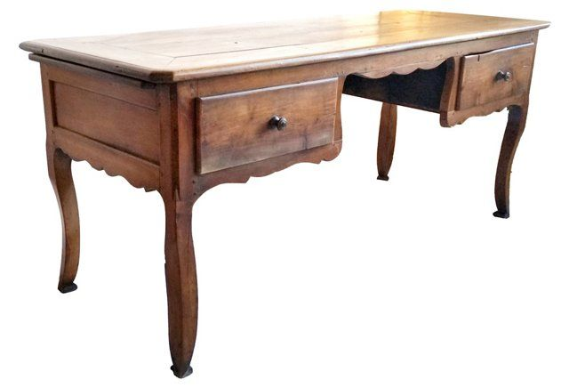 Antique Cherry Country French Desk