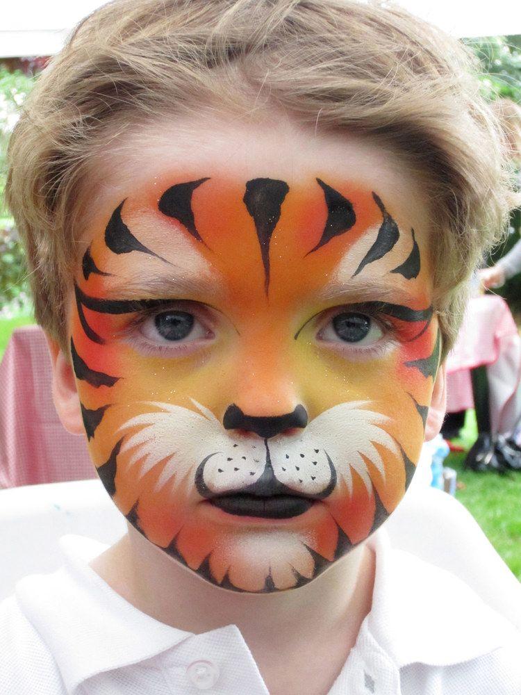 Tiger Halloween Makeup For Kids