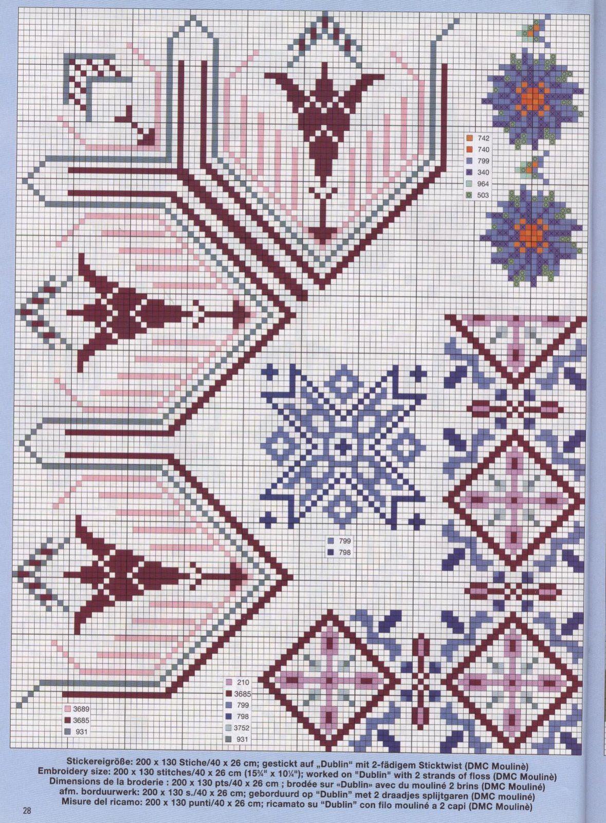 h схему вышивки крестом детские