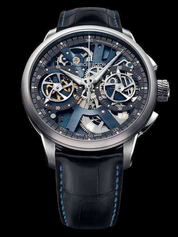 The new Masterpiece Le Chronographe Squelette Collection  459e0d25483