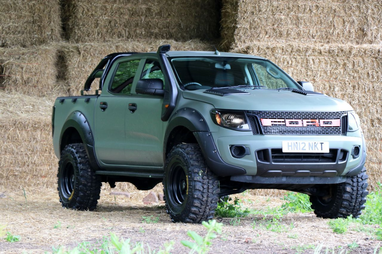 ford ranger 2 2 pick up double cab camo seeker raptor. Black Bedroom Furniture Sets. Home Design Ideas