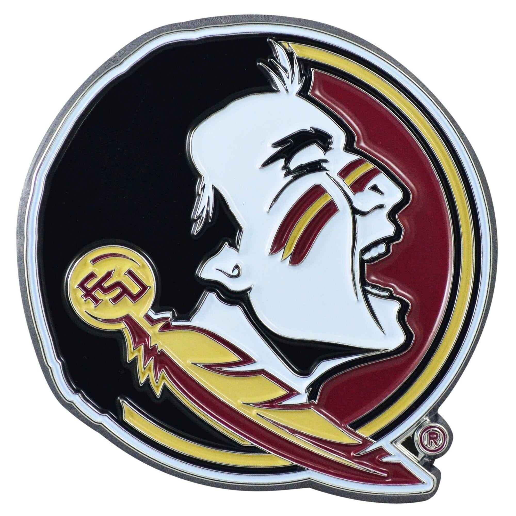 Best Fanmats Florida State University 3D Metal Color Emblem 640 x 480