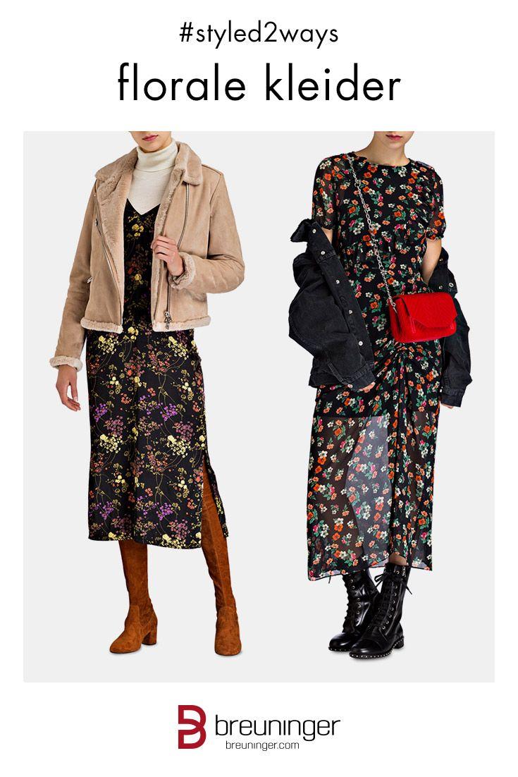 styled2ways : Florale Kleider! #breuninger #bumenkleider ...