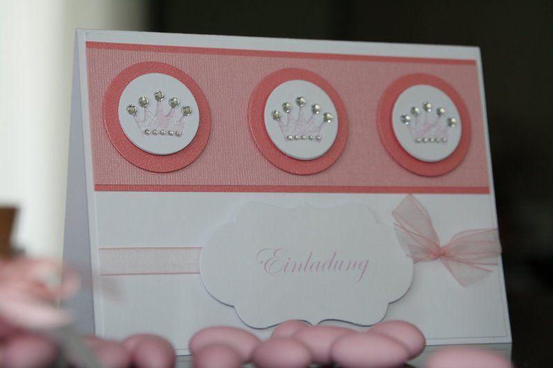 Einladungskarte Taufe Mädchen